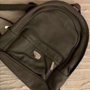Michael Kors Pebbled Leather Backpack